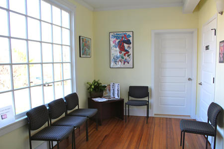 mars hill clinic waiting room