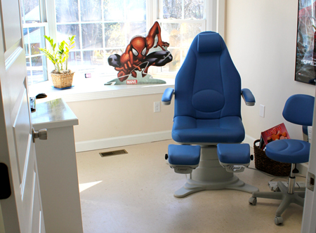 exam room in Mars Hill