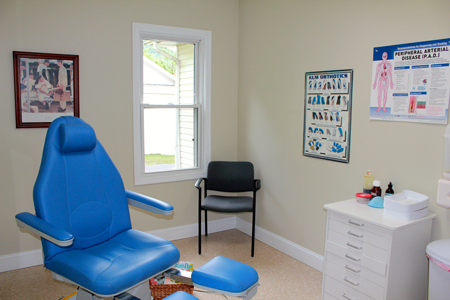 spruce pine office exam room