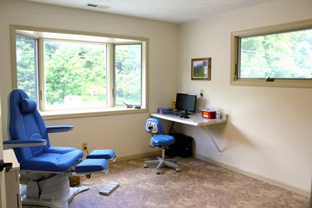 boone office exam room