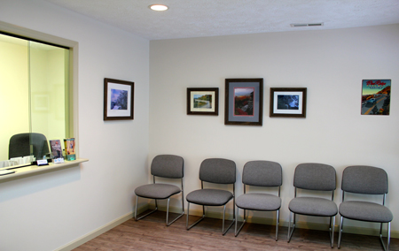 Boone office waiting room